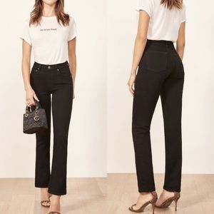 NWT Reformation | Liza High Rise Straight Jeans 26